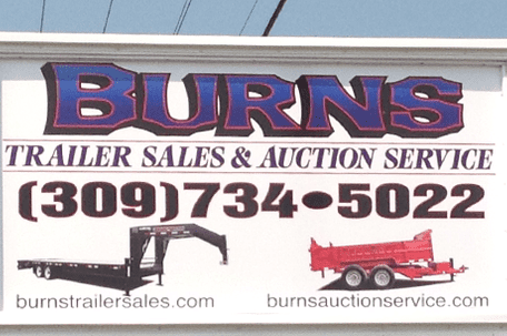 The official Burns sign photo
